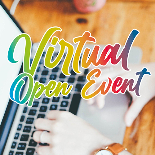 Virtual open event Thursday 11 March