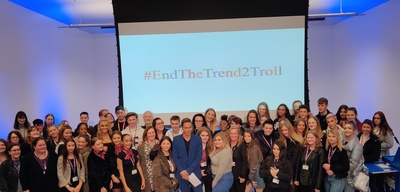 List size nr12   star of the only way is essex brings anti trolling campaign to students