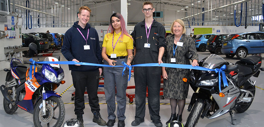List size double centre for advanced technologies officially opens